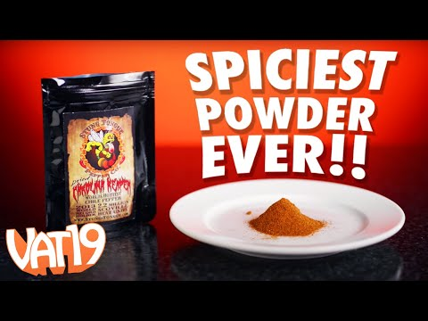 Thumbnail: World's Spiciest Pepper Challenge: Carolina Reaper Powder