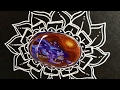 Dragons Breath Galaxy Mexican Fire Opal Doodle Gem  ep 47