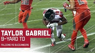 Taylor Gabriel 26-yard catch & 9-yard Rushing Touchdown! | Falcons vs. Buccaneers | NFL