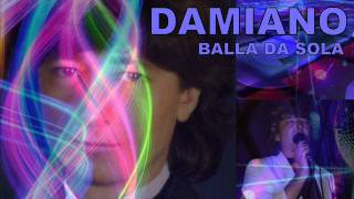 DAMIANO - BALLA DA SOLA - disco electro dance 1983 italo music