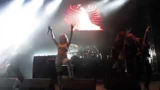 ARCH ENEMY Burning Angel, Bogotá METAL MILLENNIUM XT 2015