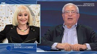 Raffaella Carrà omaggia in diretta Paolo De Andreis - IO e TE 24/07/2019