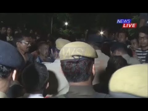 Dokmoka incident: Nilotpal's friends raise slogans against police during his funeral at Nabagraha