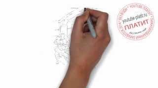Учимся рисовать пиратский корабль  Как поэтапно карандашом нарисовать комнату капитана пиратов(, 2014-08-10T04:55:44.000Z)