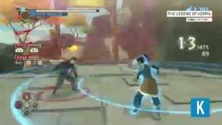 The Legend of Korra: Video-Game Gameplay & First Look (SDCC 2014)