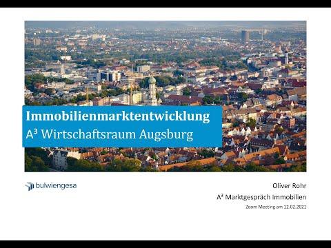 A³ Marktgespräch Immobilien 2021 - Keynote von Oliver Rohr, bulwiengesa AG