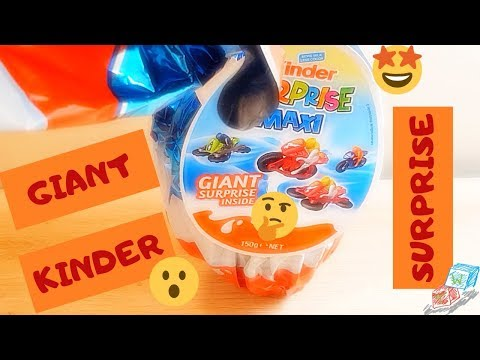 #kinder #surprise Giant Kinder Surprise Egg!!!!!! It's BIG!!!!!