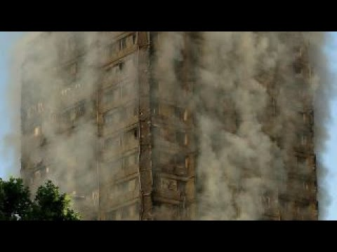 Deadly fire rips through London high-rise