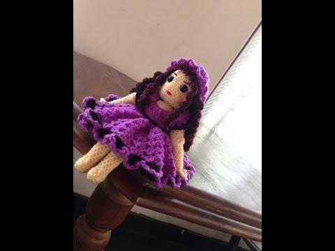 Amigurumi Doll Free Crochet Pattern : My crochet bleuette doll free pattern youtube