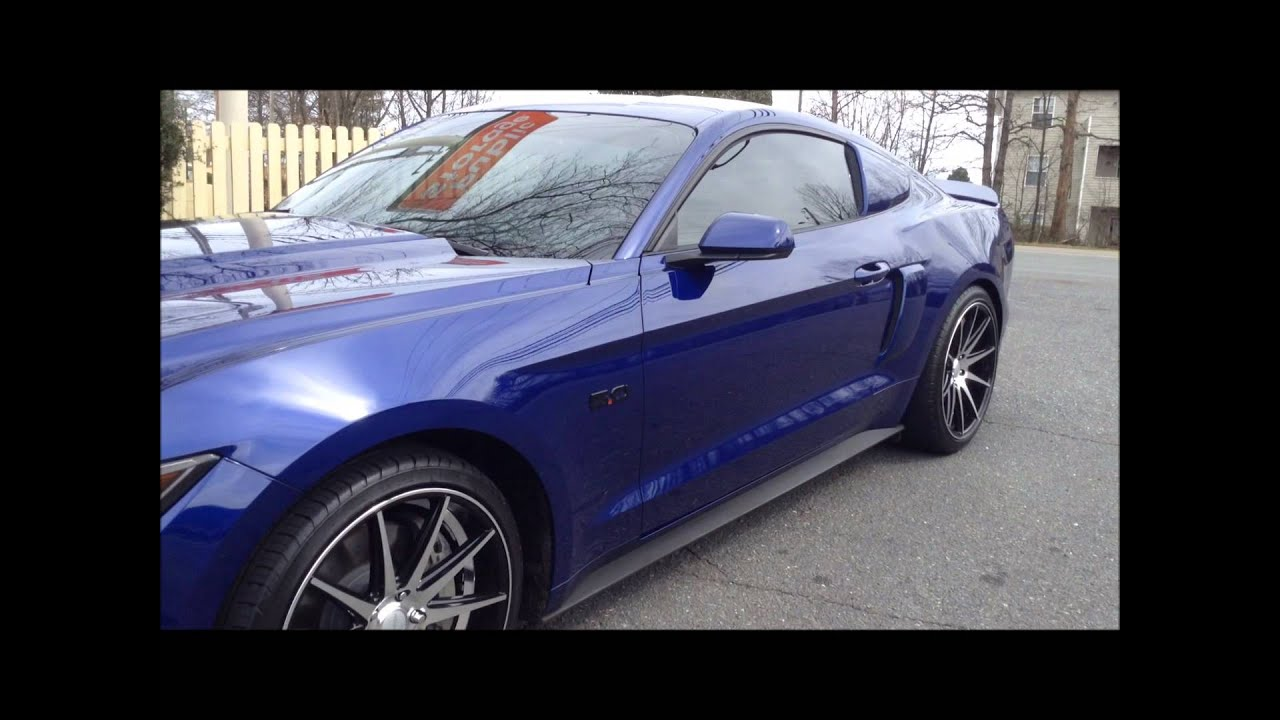 2016 Ford Mustang Rolling Out Of Rimtyme Of Charlotte On