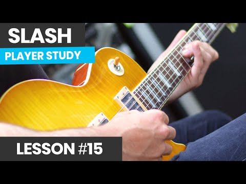 How To Play Like Slash [Slash Course Lesson 15] What Scales Does Slash Use?