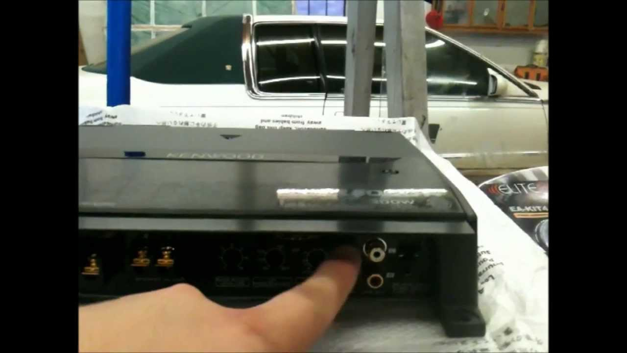hight resolution of 2008 gmc sierra how to install a system w bose jl audio w0v3 2 12 kenwood 8105 class d car audio youtube