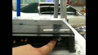"2008 GMC SIERRA HOW TO INSTALL A SYSTEM W/ BOSE JL AUDIO W0V3 2-12"" KENWOOD 8105 CLASS D CAR AUDIO"