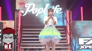 Nana Yamada performing LIVE at Toycon - Pop Life Fan Xperience.