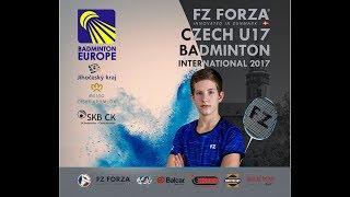 Kurt 1 – FZ FORZA Czech U17 Badminton International 2017