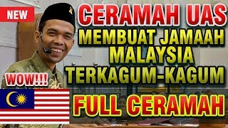 Ceramah Ustadz Abdul Somad Bikin Jamaah Malaysia Terkagum - kagum