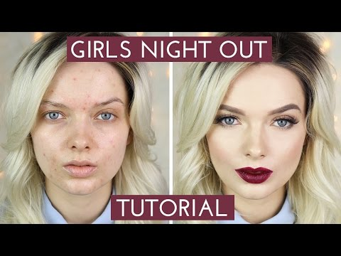 Acne Coverage // Girls Night Out Makeup Tutorial //  MyPaleSkin
