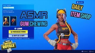 ASMR - France Fortnite NOUVEAU Catastrophe Skin Set! Mise à jour de l'article Shop 🎮🎧Relaxing Whispering😴💤