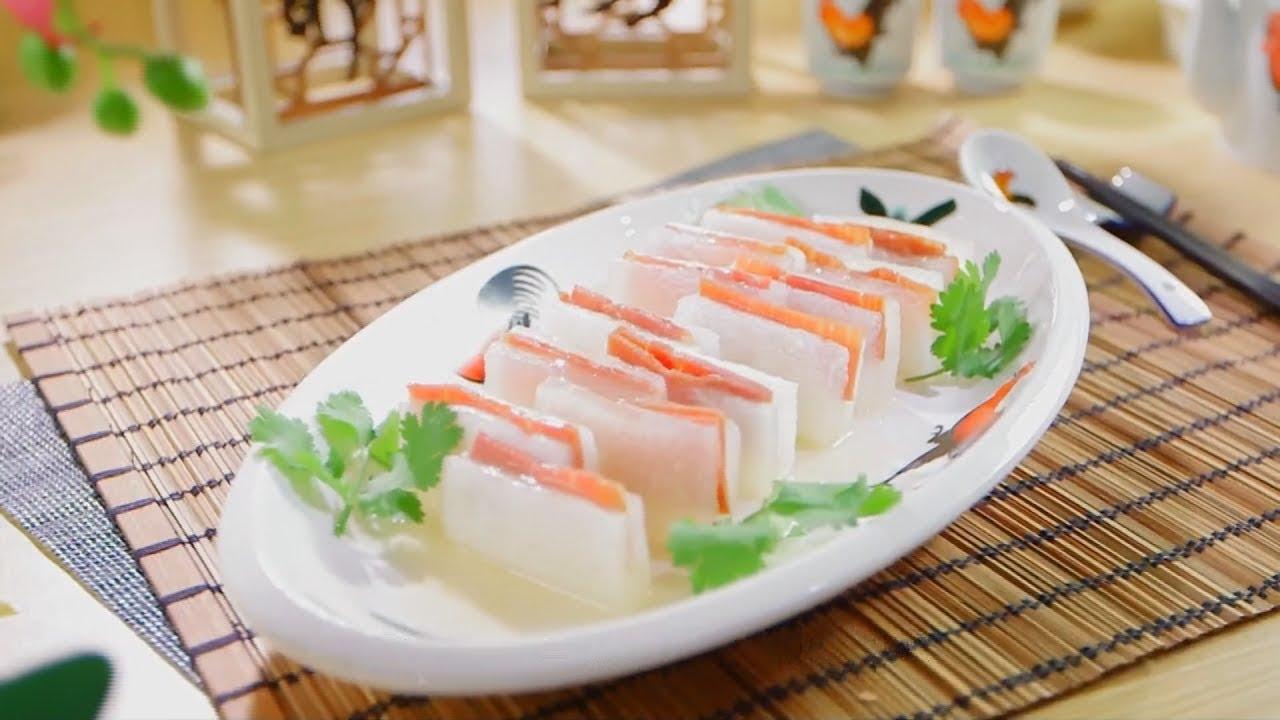 阿爺廚房食譜 | 冬瓜寶盒 夾鹹香金華火腿 - YouTube