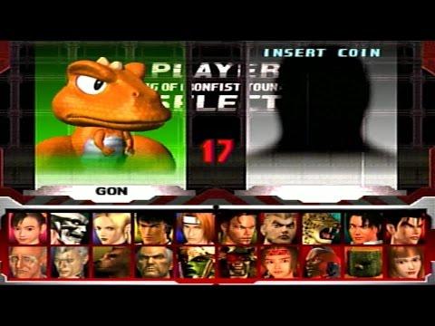 Tekken 3   Gon