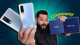 vivo X50 Pro & X50 Unboxing & First Impressions ⚡⚡⚡Next Level Gimbal Camera Smartphone (1X Giveaway)