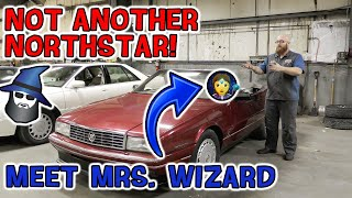 Not another Northstar! The CAR WIZARD introduces you to a '93 Cadillac Allante and MRS. WIZARD!!!