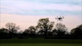 Pixhawk Auto Tune and first flights