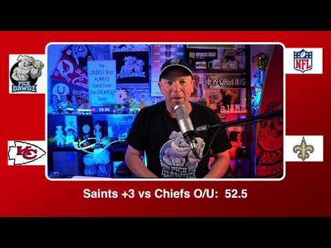 New Orleans Saints vs Kansas City Chiefs 12/20/20 NFL Pick and Prediction Sunday Week 15 NFL