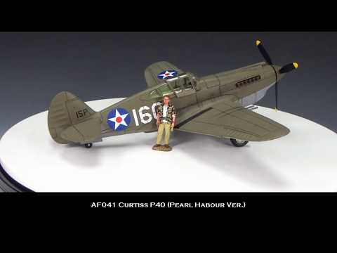 "King & Country's Toy Soldiers - Pearl Harbor P40 ""Tomahawk"" (AF041)"