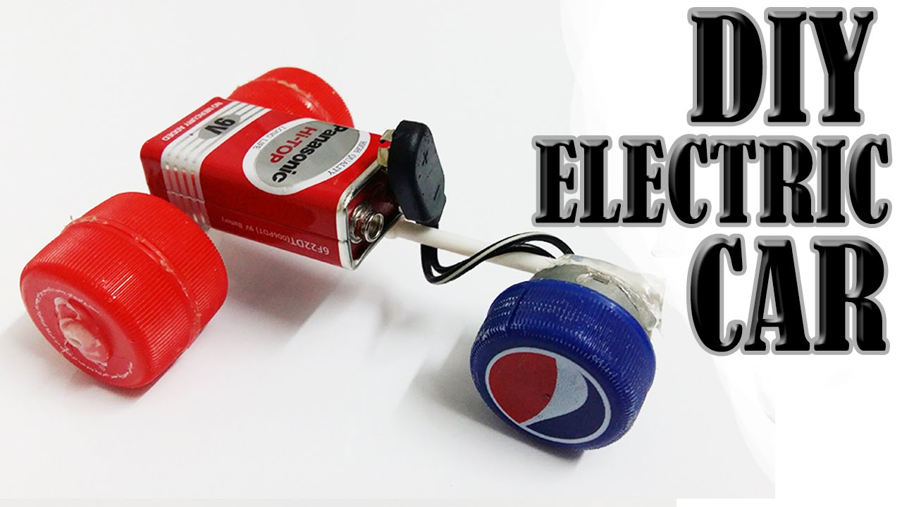 How To Make The Simplest Electric Car Homemade Mini Car
