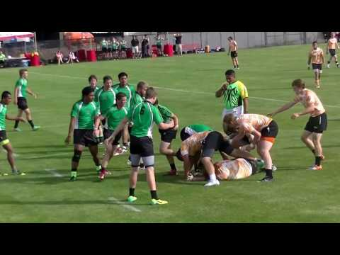 Utah Rugby Kau Toa vs Wasatch U16 Semi-Finals 2014