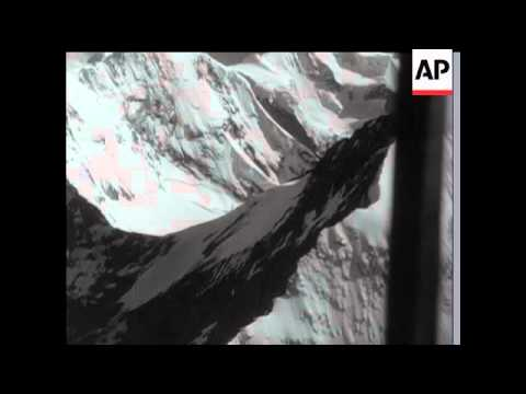 CLIMBERS TRAPPED IN EIGER MOUNTAINS