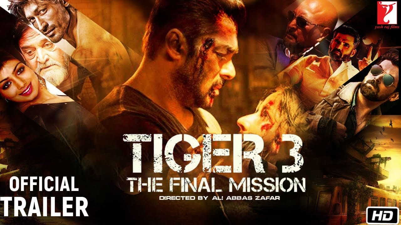 Tiger 3 : Official Trailer | Salman Khan | Katrina Kaif | Kabir Khan |  Paresh Rawal |Concept Trailer - YouTube