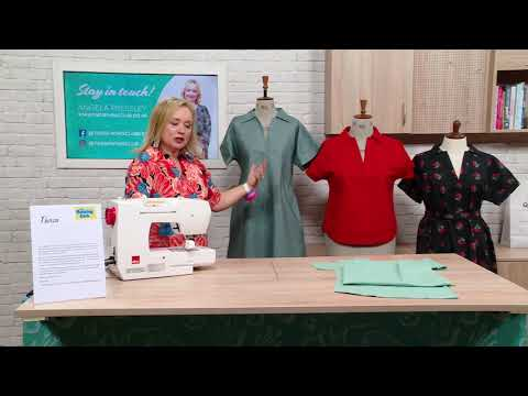 Angela Pressley - Sewing Quarter Promotional Video