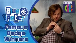 Famous people with Blue Peter Badges - CBBC