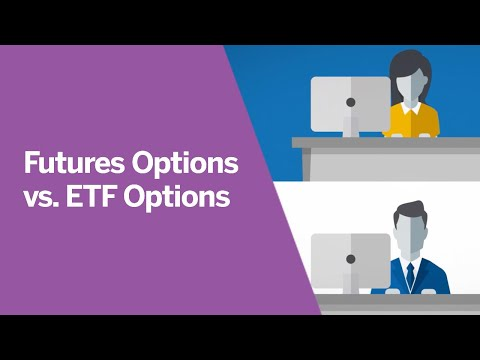 Trading Options on Futures VS ETFs