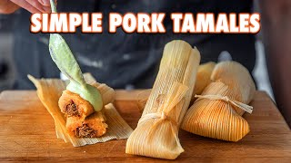 Easy Authentic Tamales That Anyone Can Make