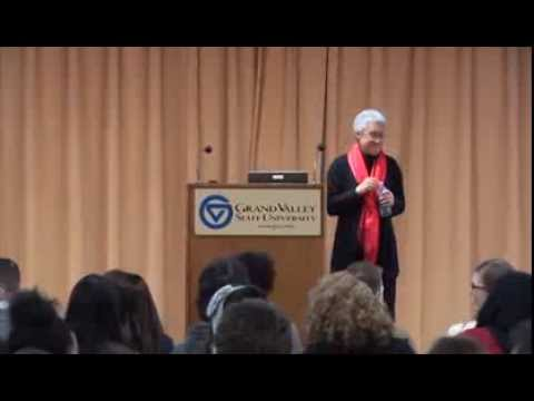 Patricia Hill Collins at Grand Valley State University Febru