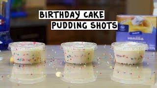 Birthday Cake Pudding Shots - Tipsy Bartender