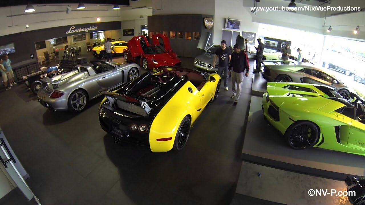 8 5mil Supercar Showroom Time Lapse Setup For Shoot Youtube