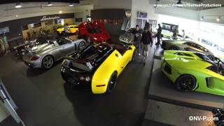 $8.5mil Supercar Showroom Time Lapse Setup for shoot