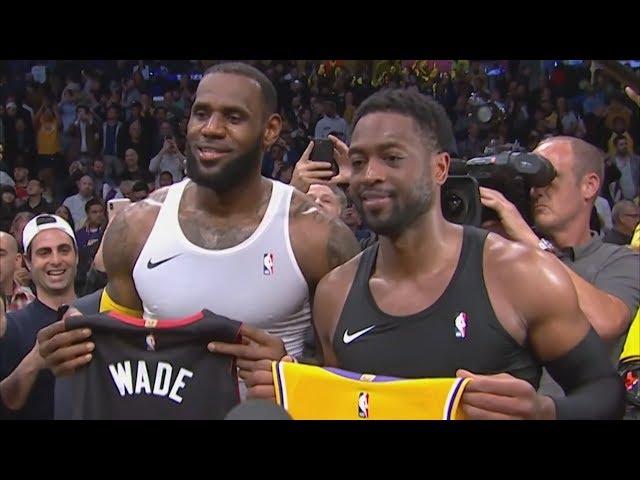 Lakers Win LeBron's Final Duel With Wade! 2018-19 NBA Season