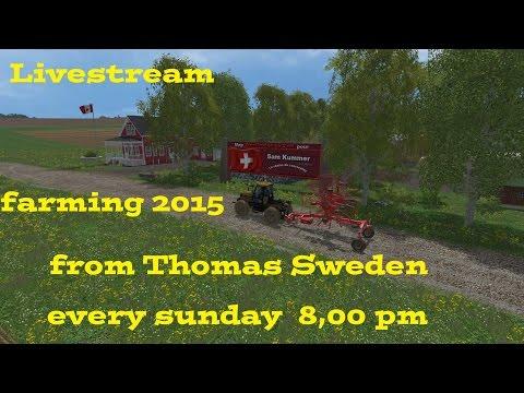 Liveström från Thomas Sweden