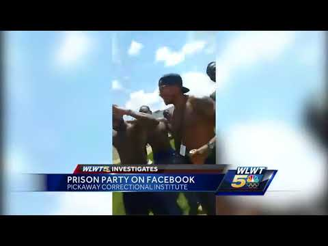 Cincinnati convicts broadcast prison yard pizza party live to Facebook group