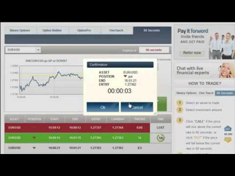Thumbnail: Make Money Fast Online - Easy Money in 60 Seconds Trading Binary Options