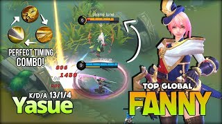 Royal Cavalry Insane Cable Skill Combo by Yasue Top Global Fanny ~ Mobile Legends