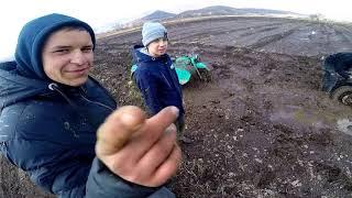 Мотоцикл Урал и Кросс Засадили в болоте.От 1 лица. 1 часть !!!