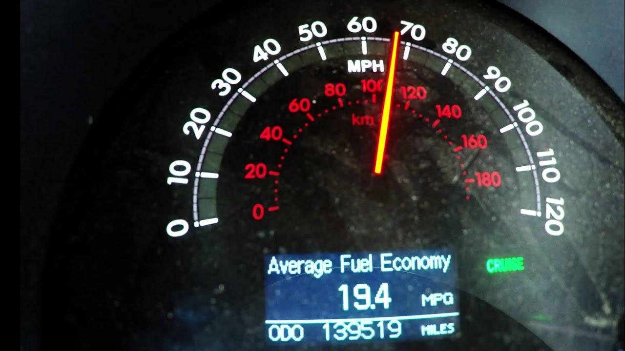 gas mileage trip