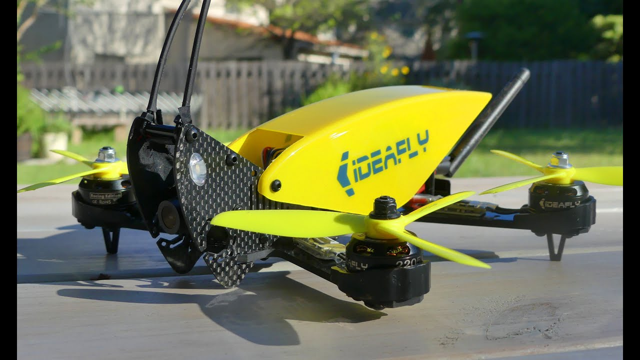 Ideafly Grasshopper F210 | Dronereview