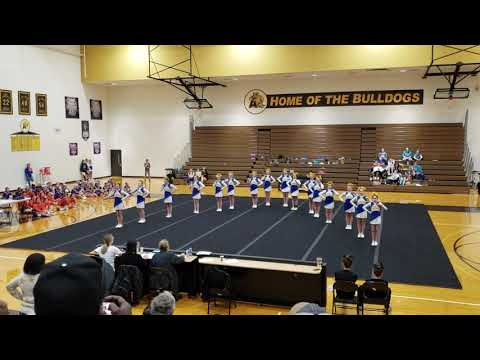 Ida Middle School at Adrian College Cheer Competition